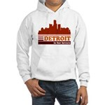 Detroit Is For Lovers Hooded Sweatshirt