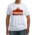 Detroit Is For Lovers Fitted T-Shirt