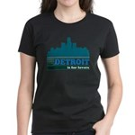 Detroit Is For Lovers Women's Dark T-Shirt