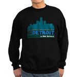 Detroit Is For Lovers Sweatshirt (dark)
