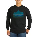 Detroit Is For Lovers Long Sleeve Dark T-Shirt