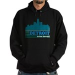 Detroit Is For Lovers Hoodie (dark)