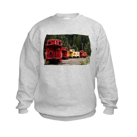 Caboose Line Kids Sweatshirt