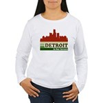 Detroit Is For Lovers Women's Long Sleeve T-Shirt