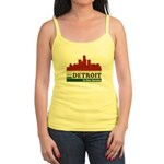 Detroit Is For Lovers Jr. Spaghetti Tank