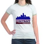 Detroit Is For Lovers Jr. Ringer T-Shirt