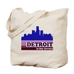 Detroit Is For Lovers Tote Bag