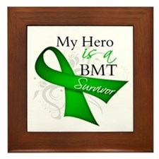 Hero BMT Survivor Framed Tile