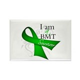 I'm a BMT Survivor Rectangle Magnet (100 pack)