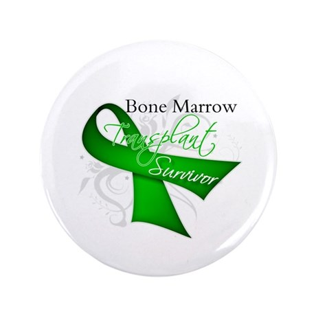 "Ribbon BMT Survivor 3.5"" Button"