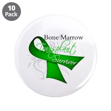 "Ribbon BMT Survivor 3.5"" Button (10 pack)"