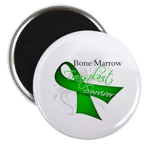 "Ribbon BMT Survivor 2.25"" Magnet (100 pack)"