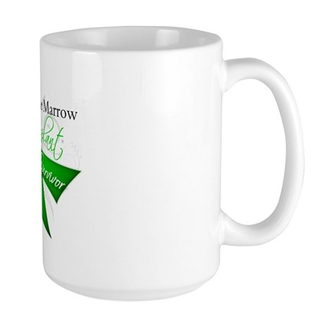 Ribbon BMT Survivor Large Mug