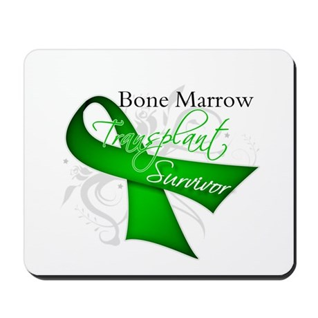 Ribbon BMT Survivor Mousepad
