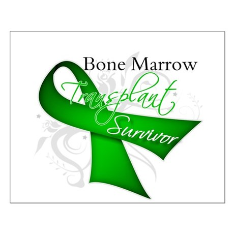 Ribbon BMT Survivor Small Poster