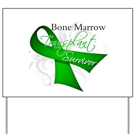 Ribbon BMT Survivor Yard Sign