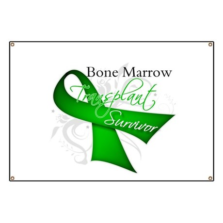Ribbon BMT Survivor Banner