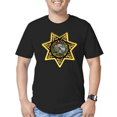 Metro Transit Police Men's Fitted T-Shirt (dark)