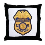 EPA Special Agent Throw Pillow