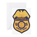EPA Special Agent Greeting Cards (Pk of 20)