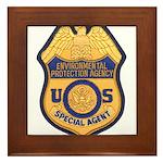 EPA Special Agent Framed Tile