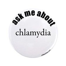 "ask me about chlamydia 3.5"" Button (100 pack)"