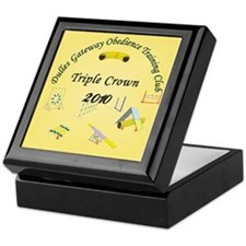 Triple Crown yellow v2 Keepsake Box