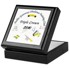 Triple Crown white v2 Keepsake Box
