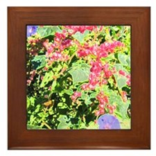Natural Tapistry Framed Tile