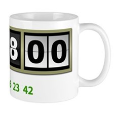 Lost Numbers 108 Minutes Small Mug