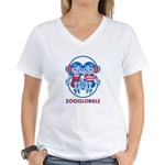 Logo Women's V-Neck T-Shirt