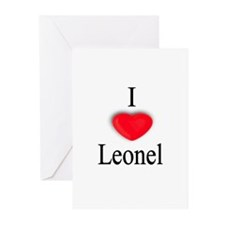 Leonel Greeting Cards (Pk of 10)