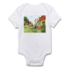 The Pigs and the Wolf Infant Bodysuit