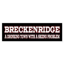 Breckenridge Colorado Bumper Sticker