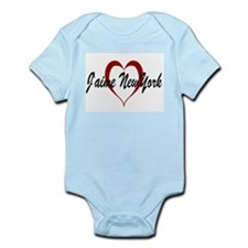 J'aime New York Infant Creeper