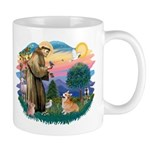 St Francis #2 / Welsh Corgi (P-7b) Mug
