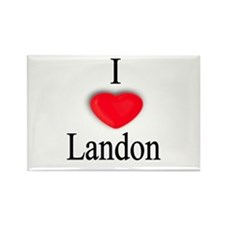 Landon Rectangle Magnet (10 pack)