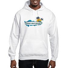 Cherry Grove SC - Surf Design Jumper Hoodie