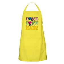 Love 2 Love My Hair! Apron