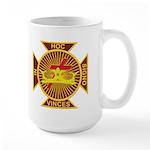 Masonic York Rite (KT) Large Mug