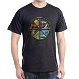 Wheel of the Year Tee (Dark)