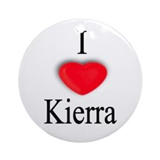 Kierra Ornament (Round)