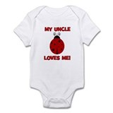 My Uncle Loves Me! LADYBUG Onesie