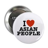I Love Asian People Button