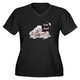 Eclipse Team Jacob Women's Plus Size V-Neck