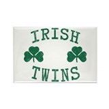 Irish Twins Rectangle Magnet