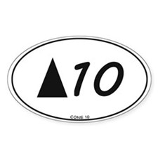 Cone 10 pottery sticker