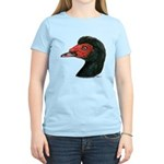 Muscovy Duck Head Black Women's Light T-Shirt