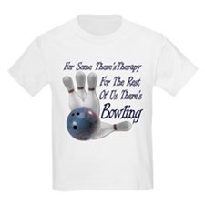 Bowling Therapy T-Shirt