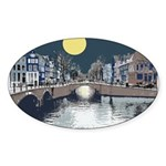 Dutch Boy Sticker (Oval)